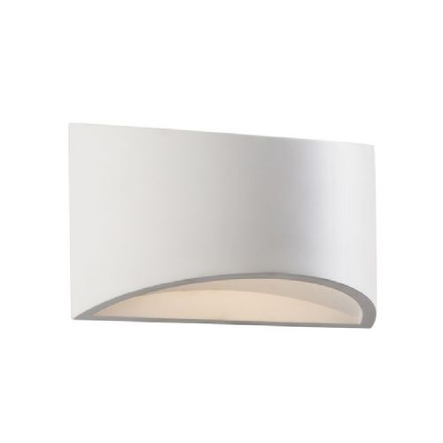 LED White plaster Wall Light BX61639-17 by Endon (Class 2 Double Insulated)
